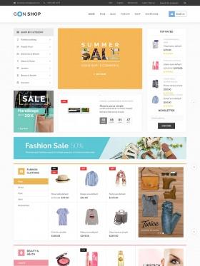 Thiết kế web bán hàng Gon Shop