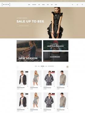 Thiết kế website bán hàng thời trang Woow