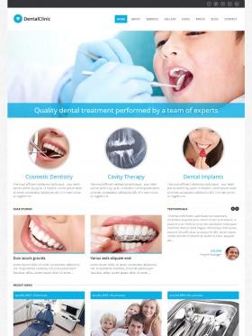Thiết kế website cho phòng khám Dental Clinic