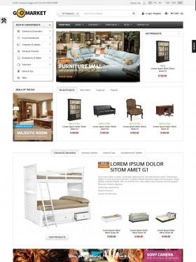 Thiết kế web nội thất Go Market