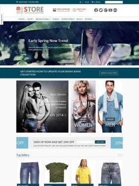 Thiết kế web bán hàng thời trang Good Store