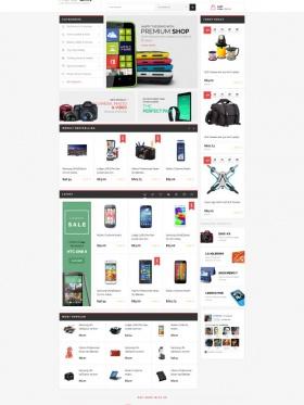 Thiết kế website bán giày Premiumo