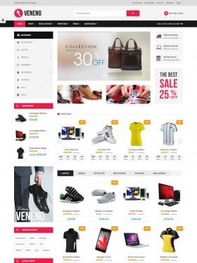 Web bán hàng thời trang đẹp Veneno
