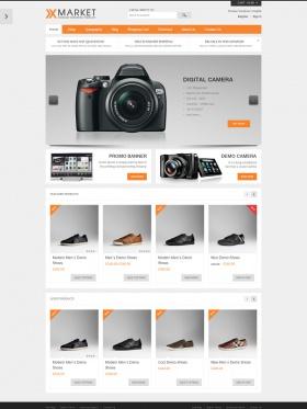 Thiết kế web bán camera đẹp Xmarket