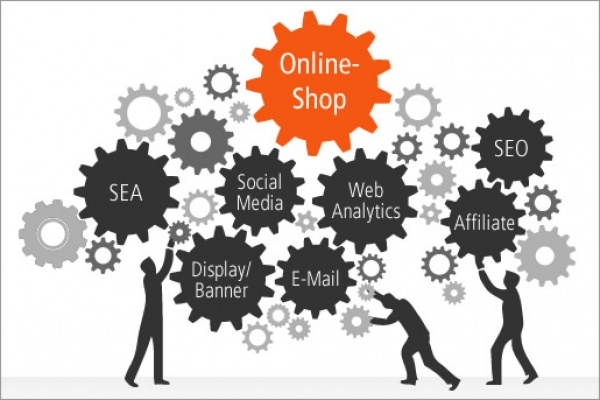 Online Marketing Grafik