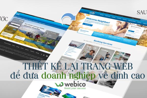 Thiet Ke Lai Trang Web