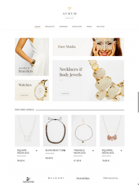Aurum Jewelry Shop Jewelry Online