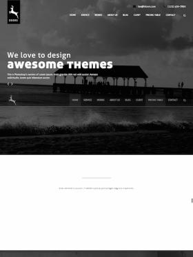 Doors Onepage MultiPurpose Wordpress Theme