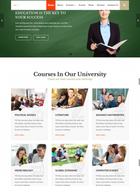 EDUCAMPUS – Education University WordPress Theme