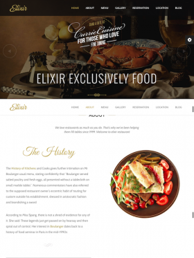 Elixir By Jellythemes