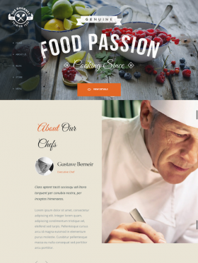 Gourmet WordPress Theme Your SUPER Powered WP Engine Blog