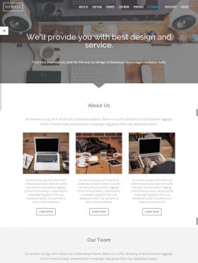 Home Page Newell Blaszok Ultimate Multi Purpose Responsive Theme