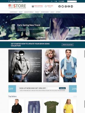 HomePage 1 GoodStore WooCommerce Responsive Theme Style 1