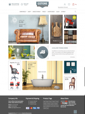 HomePage 6 Variation 1 GoodStore WooCommerce Responsive Theme Style 6