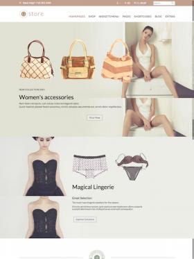 HomePage 7 GoodStore WooCommerce Responsive Theme Style 7