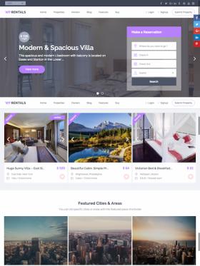 WPRentals – Advanced Booking Platform – Premium WordPress Theme