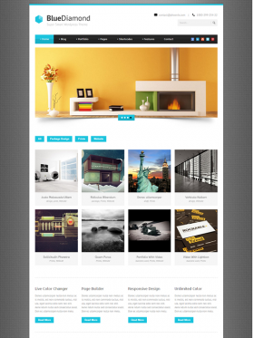 Bluediamond Homepage 4