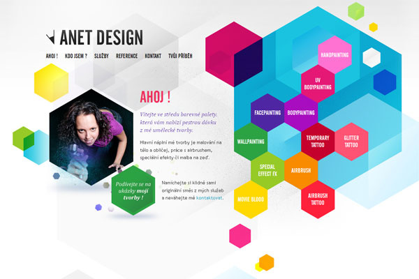Flat Design Website 4