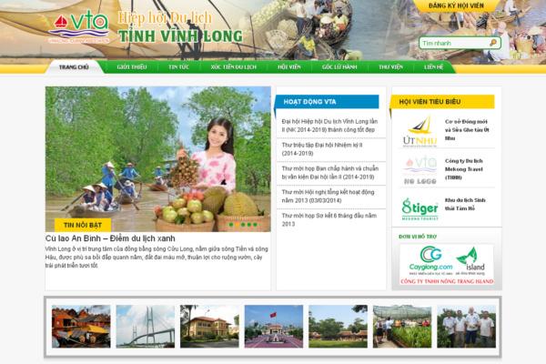 Vinhlongtourism Website