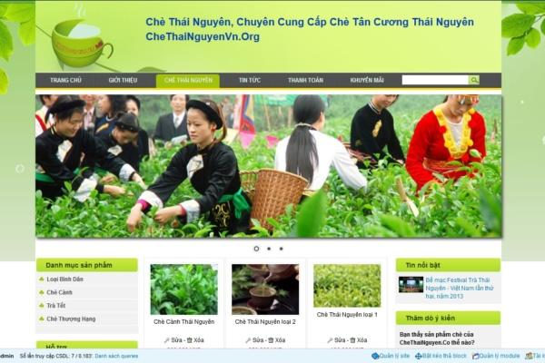 Thiết kế web Thái Nguyên