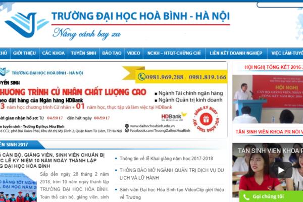 Thiet ke web Hoa Binh