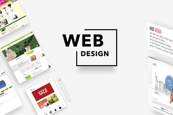 Web Design Poster 800x400
