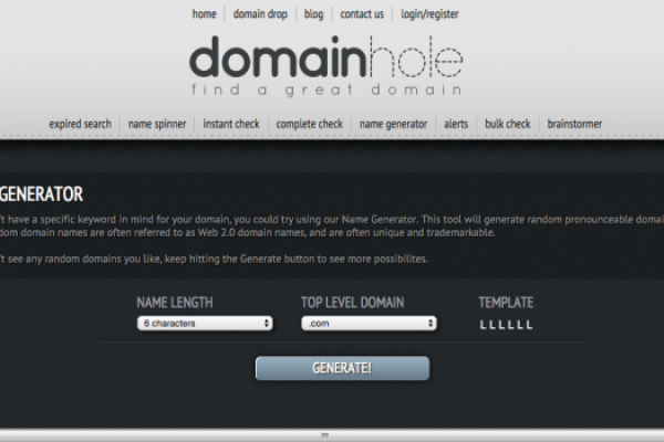Domain Hole Domain Name Generator 680x350